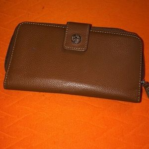 Giani Bernini Leather Wallet Good Condition